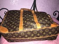 borsa in pelle marrone Louis Vuitton Roma, 00135