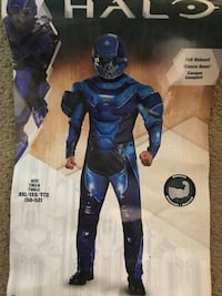 Blue and white Halo costume  Lancaster, 93534