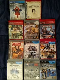 Ps3 games lot #11 games