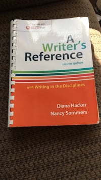 A writer's reference by Hacker and Sommers Ottawa, K2M 0L8