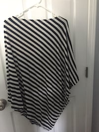 white and black stripe skirt Cupertino, 95014