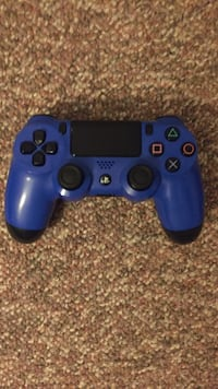 Blue Sony PS4 Controller