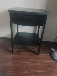 Night stand with drawer - BLACK Silver Spring, 20910
