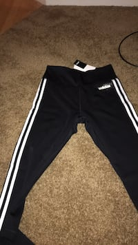 black and white Adidas track pants Las Vegas, 89110