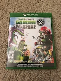 Plants vs zombies garden warfare xbox 360 game case Surrey, V4P 2J4