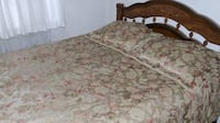 Silky queen size duvet cover & pillowcase set  Vancouver, V5T 3G6