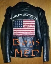 Kids Harley-Davidson leather coat 457 mi