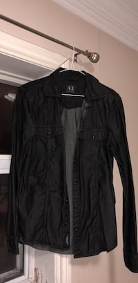 Armani Exchange Black long sleeves shirt Toronto, M6M