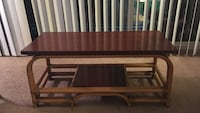 Brown wooden coffee table Alexandria, 22311
