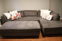 2-Piece Sectional with Chaise and Ottoman Arlington, 22204