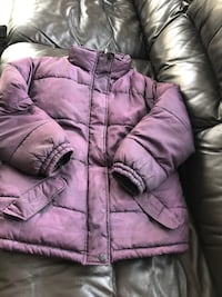 Purple zip-up bubble jacket Newmarket, L3X 2P4