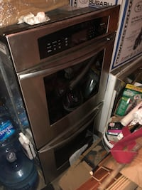 black and gray induction range oven Poolesville, 20837