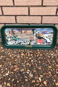 VINTAGE COCA COLA TRAY ATLANTA OUR TOWN (TRAY ISSUED 1996 MADE IN USA Gulfport, 39507