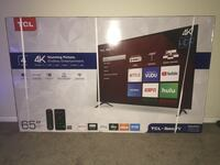 """New in box 65"""" TCL Roku Tv Fountain Valley, 92708"""