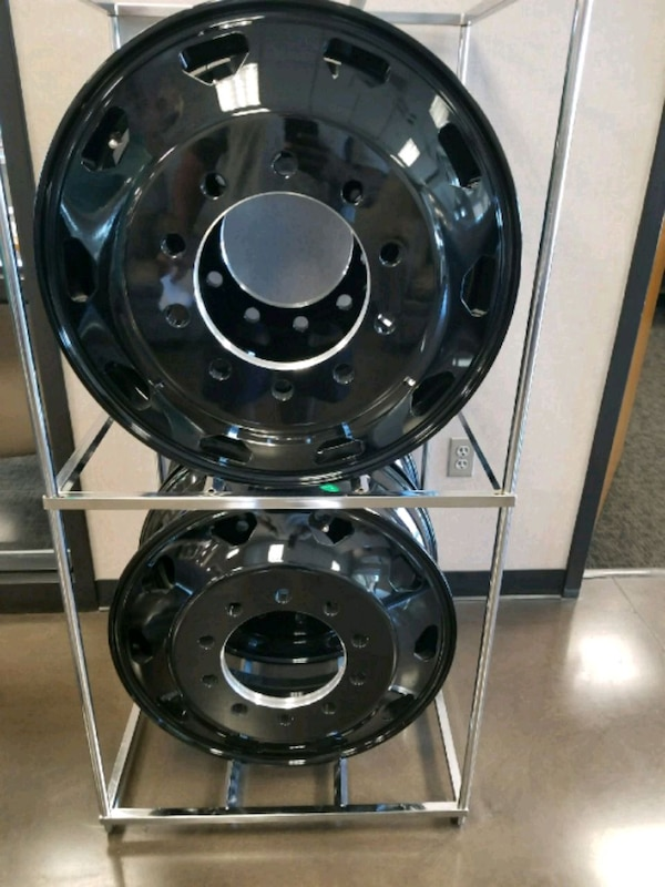 24 5 Rig Wheels Brand New
