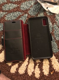 IPhone x(10) leather magnet wallet case  London, N6H 4R5