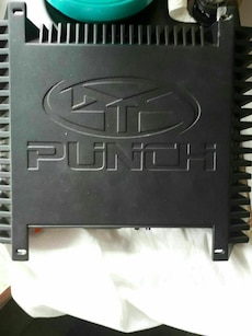 black Punch amplifier