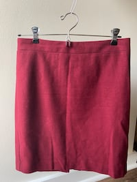 Size 6P Maroon J Crew Skirt  Washington, 20002