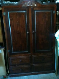 brown wooden cabinet with drawer Los Angeles, 90023