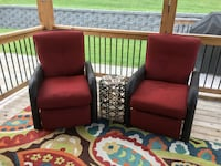 Outdoors wicker recliners Rochester, 55904