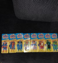 Super powers collection 8 figures Calgary, T2V 2X4
