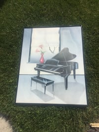 Piano picture frame Mississauga, L5V