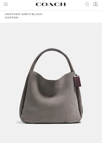 COACH BANDIT HOBO TOTE BAG