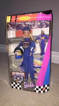 50th Anniversary NASCAR Limited Edition Barbie Vaughan, L4L