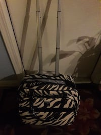 black and white zebra print luggage Bakersfield, 93314