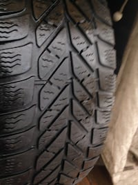 2 Goodyear winter tires 215/60/15