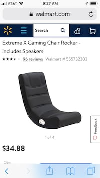 Extreme xrocker game chair new  Fairfax, 22032