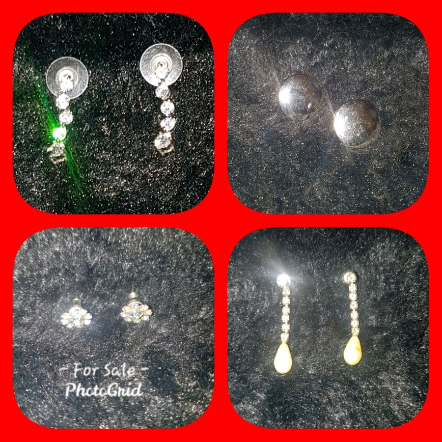 Earrings $10 Each