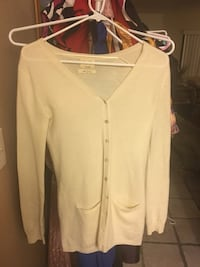 Lara knit 100 % CASHMERE Cardigan sweater with pockets so soft