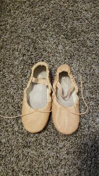 Toddler girls ballerina slippers
