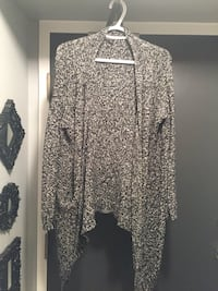 gray and black floral long-sleeved dress Whitby, L1N 2J2