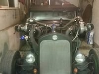31 Model A  pickup with twin turbos Mitchell, N0K 1N0