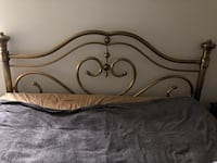 King size brass bed headboard Rockville, 20850
