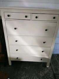IKEA HEMNES WHITE tall chest FCFS no delivery Lakeland, 33801