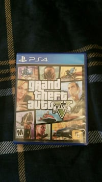 Sony PS4 Grand Theft Auto Five case Sykesville, 21784