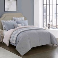 7 pc. Reversible Comforter set