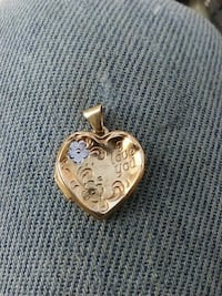 14K Gold Heart picture  locket Lake Wales, 33859