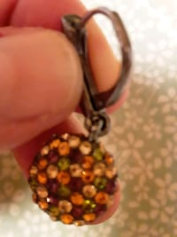 Sparkly Halloween lever back earrings Centreville, 20120
