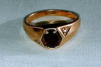 Gold Ring with Red Gem  Minneapolis, 55422