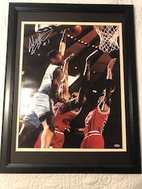 Nba Framed John Starks Autograph Palm Coast