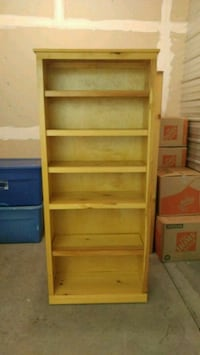 Bookcase Custom made order w/ Polyurethane layers Selah, 98942