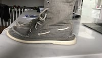 Sperry Topsider Hightops (Size 10)