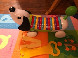 Leap frog alphapup toy