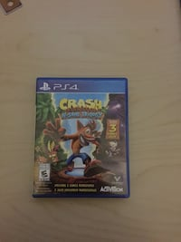 Sony PS4 Crash Bandicoot N Sane Trilogy game case