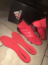 Adidas predators19+ soccer cleats