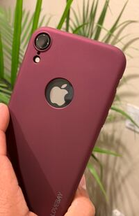 iPhone XR case in plum color Anaheim, 92801